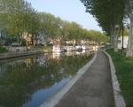 le Canal de la Robinne à l\'entrée de Narbonne