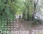 En décembre vers les berges de Garonne à Noé